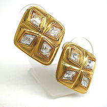 Auth Chanel Earring Metal Gold(bf060499) Photo