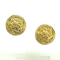 Auth Chanel Earring Metal Gold(bf061006) Photo