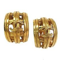 Auth Chanel Earring Metal Gold(bf061012) Photo