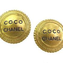 Auth Chanel Earring Metal Gold(bf061025) Photo