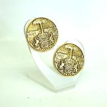 Auth Chanel Earring Metal Gold (Bf061616) Photo