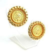 Auth Chanel Earring Metal Gold (Bf061618) Photo