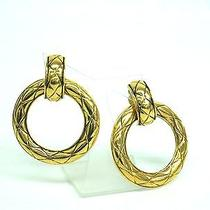 Auth Chanel Earring Metal Gold(bf061864) Photo