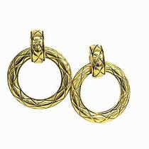 Auth Chanel Earring Metal Gold(bf061915) Photo