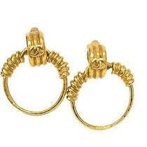 Auth Chanel Earring Metal Gold(bf061994) Photo