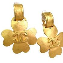 Auth Chanel Earring Metal Gold(bf064227) Photo