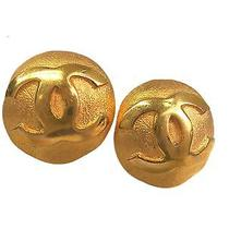 Auth Chanel Earring Metal Gold(bf065275) Photo