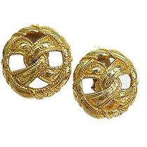 Auth Chanel Earring Metal Gold(bf065801) Photo