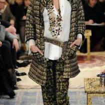 Auth Chanel Gorgeous Gold Multicolor Classic Buttons Blazer Jacket Sz 40 Photo
