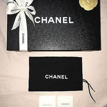 Auth Chanel Storage Gift Box 11x7x4