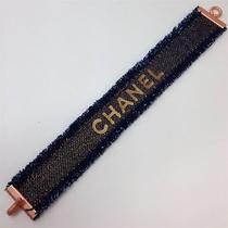 Auth Chanel Z2199 Denim Bracelet (15000160) Photo