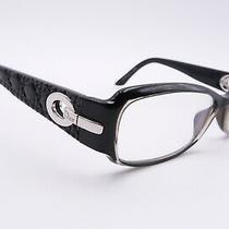 Auth Christian Dior Cd 3206 Rx Eyeglasses Frames So2 Black Gray 5315-135 D219 Photo