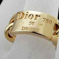 Auth Christian Dior Gorumetto De Dior Ring 4.55(usa) (S Z2330) Photo