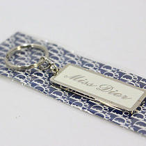 Auth Christian Dior Key Ring Charm Silver A87 Photo