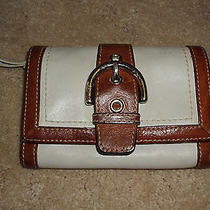 Auth Coach Leather Wallet Photo