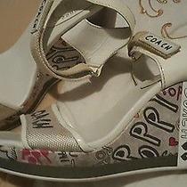 Auth Coach Platform Graphic  Design  Sandals  U.s. Size 8.5 Photo