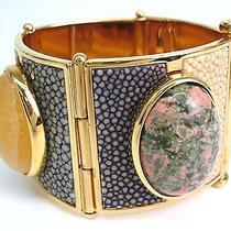 Auth Fendi Bracelet Metal Gold/multicolor(bf066202) Photo