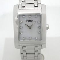 Auth Fendi  Women's Wrist Watch Quartz ss&diamond 130102 Photo