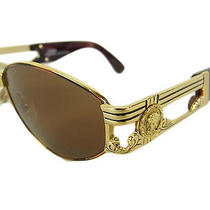 Auth Gianni Versace Medusa mod.s75 Sunglasses Eyewear 14353esab Photo