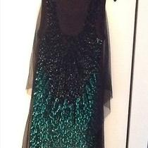 Auth Givenchy Black Sequin Top Sleeveless Shirt Top Top M  Photo