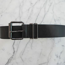 Auth. Gorgeous Robert Rodriguez Black Leather Belt Sz 2.  Photo