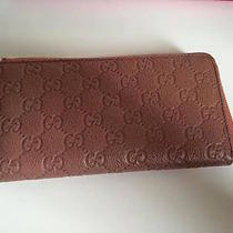 Auth.  Gucci Baby Pink Wallet Photo