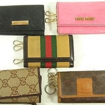 Auth Gucci Celine Miumiu Junk Key Case 5p From Japan 362-143-E Photo