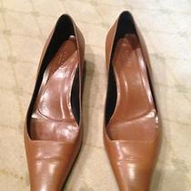 Auth Gucci Cognac Pumps Us 8 Photo