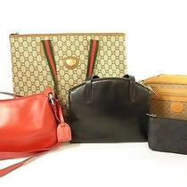 Auth Gucci Junk Bag 5 Piece From Japan 362-142-E Photo