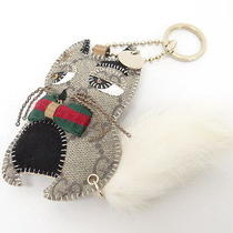 Auth Gucci Key Chain Ring Charm Guccioli Cat 0 Shipping Italy 25120197100 710b Photo