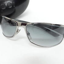 Auth Gucci Sunglasses Eye Wear 6114 Free Shipping Green Italy 01120412200 D14b Photo