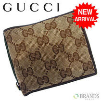 Auth Gucci Wallet Shelley Beige  Red  Green Canvas  Leather M608 Photo