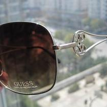 Auth Guess Sunglasses Brown Gold Gu7069 Photo