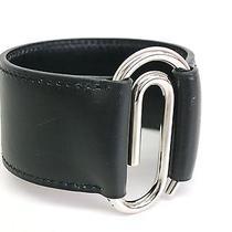 Auth Hermes Bracelet Veau Box Black (Bf067766) Photo