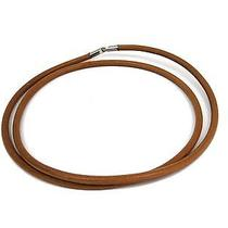 Auth Hermes Choker Leather/metal Natural (Bf104476) Photo