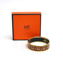 Auth Hermes Cloisonne Bangle Bracelet Multicolor- E01028 Photo