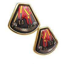 Auth Hermes Enamel Earrings Plated / Cloisonne (Bf071865) Photo