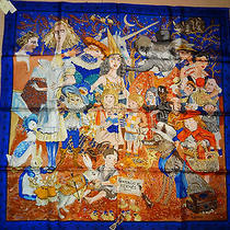 Auth Hermes 'Fairytales by Hermes' Scarf Photo