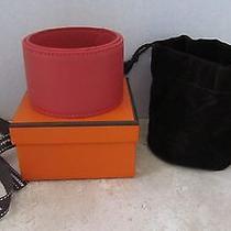 Auth Hermes Leather Bracelet/chocker 2014 Petit