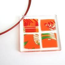 Auth Hermes Necklace Wire Red(bf050422) Photo