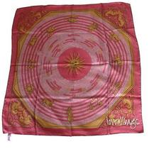 Auth Hermes Silk Scarf - Astrologie by F Faconnet Dipdye Rouge Rare Bnib Photo