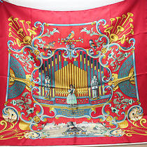 Authhermes Silk Scarf Orgauphone Free Shipping 75013 Photo
