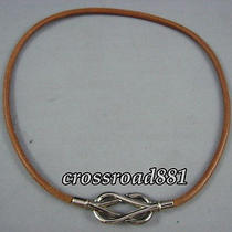 Auth Hermes Silver Jumbo Necklace/choker and Bracelet Good Condition Photo
