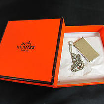 Auth Hermes Silver Tone Necklace - Mprs N575 Photo