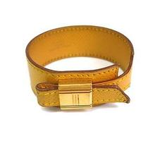 Auth Hermes Ultimatum Bracelet Courchevel Yellow(bf057870) Photo