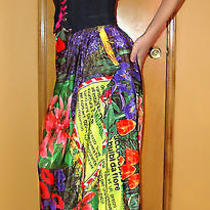 Auth. Limited Moschino Couture -Skirt- Top- Silk Dress Set - Made in Italy - S Photo