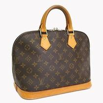 Auth Louis Vuitton Alma Hand Bag Monogram M51130(bf050785) Photo