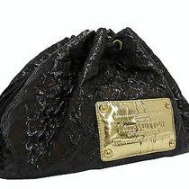 Auth Louis Vuitton Brown Vinyl Monogram Squishy Inventeur Shoulder Bag E-4974 Photo