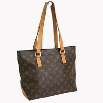 Auth Louis Vuitton Cabas Piano Tote Bag Monogram M51148(bf050781) Photo