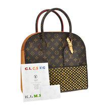 Auth Louis Vuitton Christian Louboutin Shopping Bag Hand Bag Monogram B29520 Photo